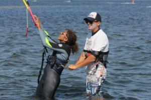Kite Lessons in Punta Trettu, Sardinia