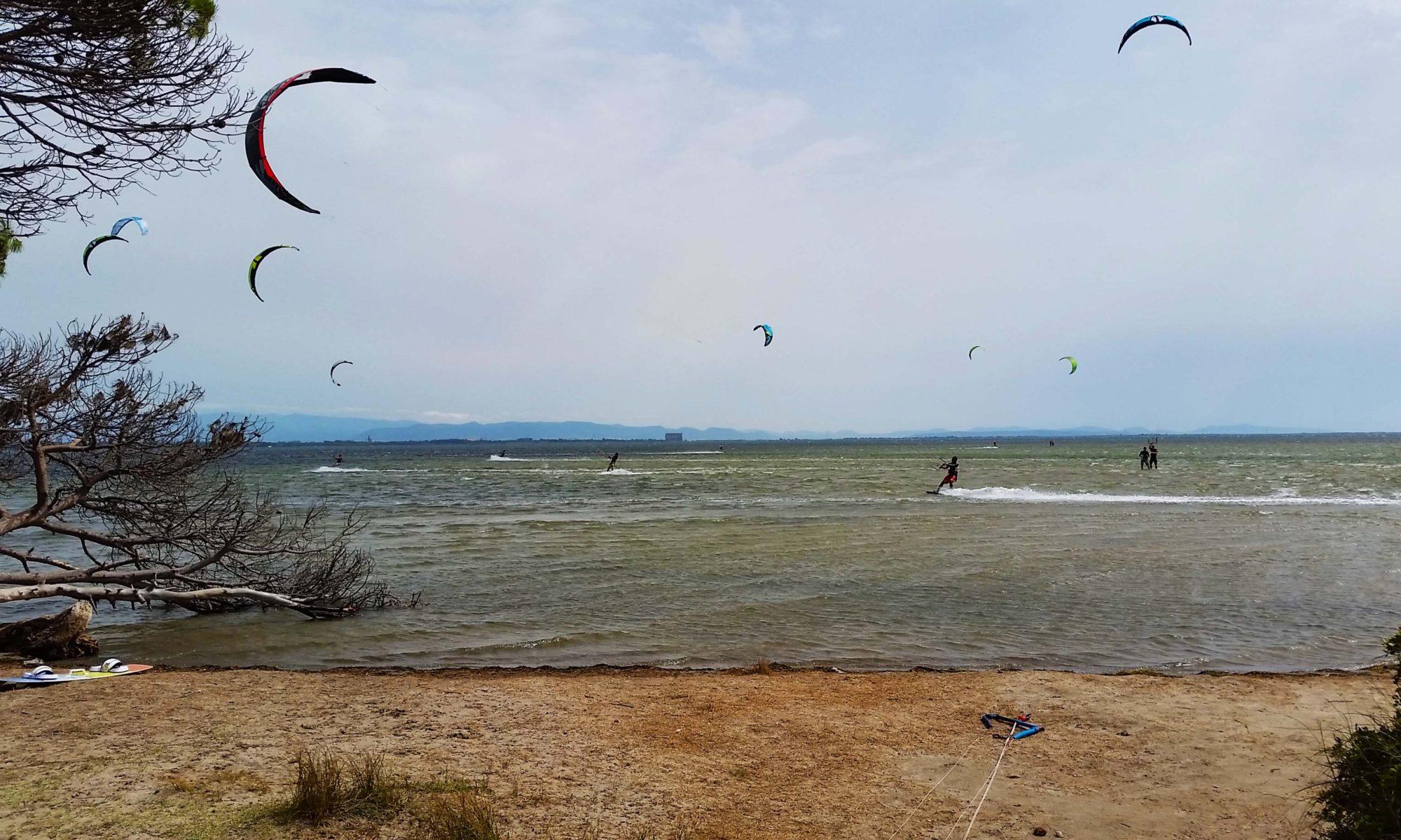 Kite Punta Trettu, Kitesurf school in Sardinia
