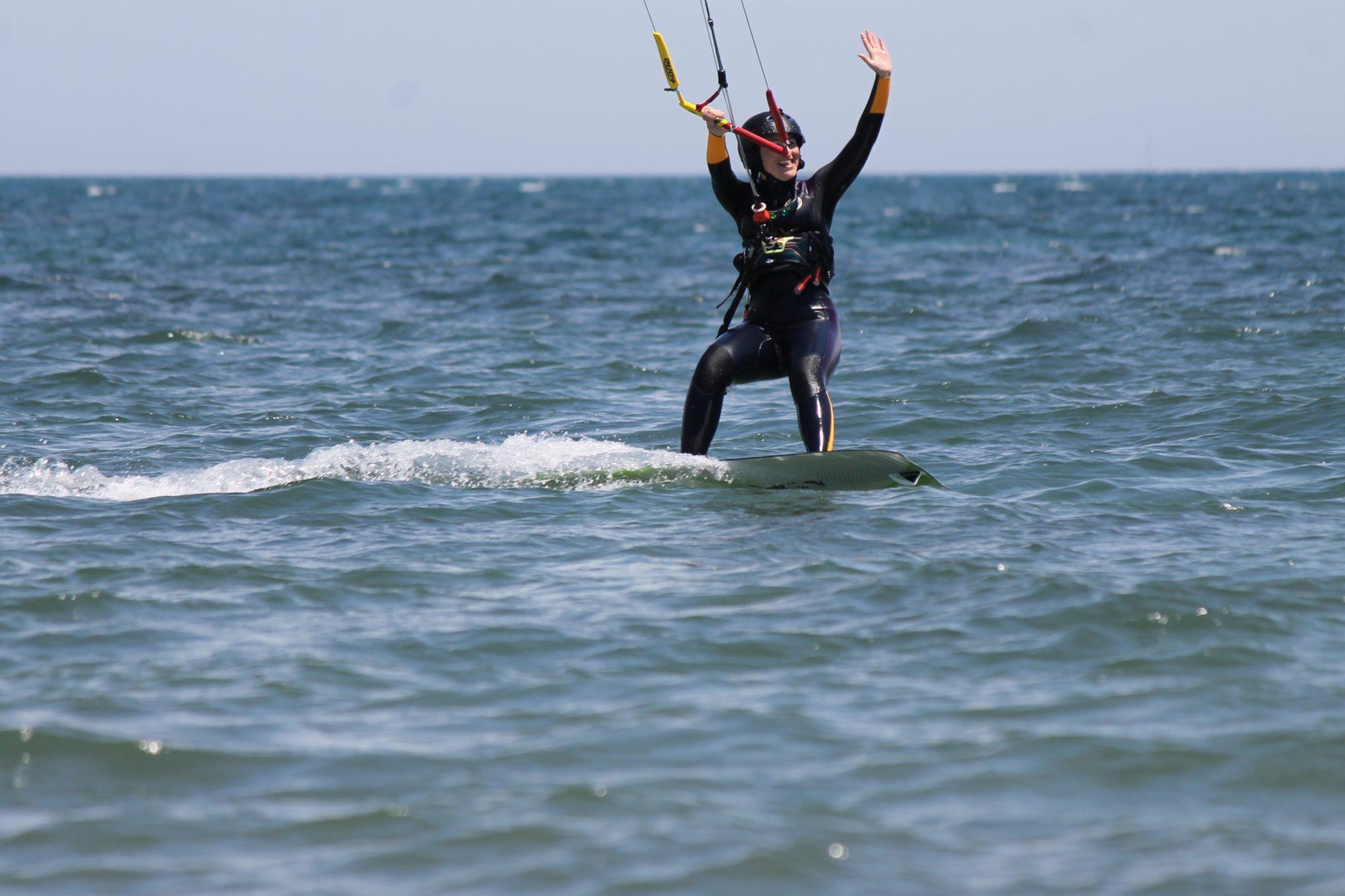 Kitesurfing in Sardinia Punta Trettu Porto Botte Cagliari Petrol Beach