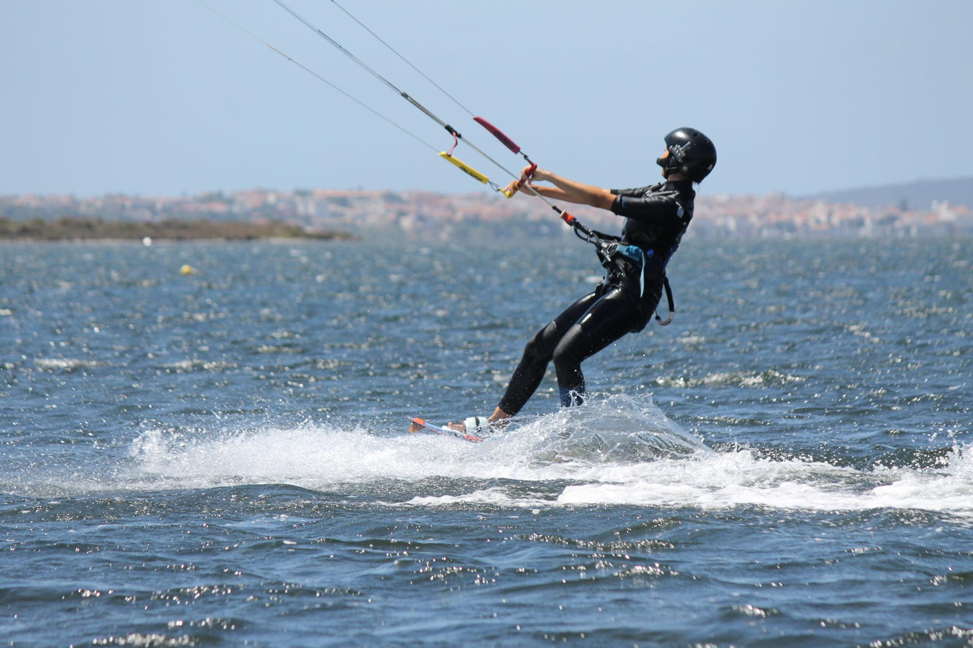Kitesurfing Punta Trettu Sardinia, my Zero to Hero Kite Course