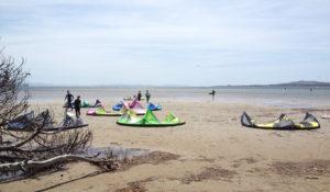 Punta Trettu Kite Beach Sardinia Kitesurfing Flat Water